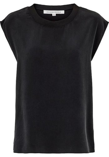 Second Female T Shirt Abela Black