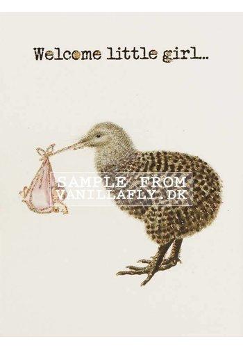 Vanillafly Greeting Card