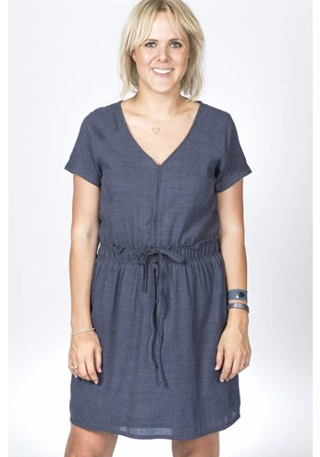 Louizon Dress Florence Indigo