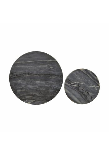 House Doctor Marble Coaster Set
