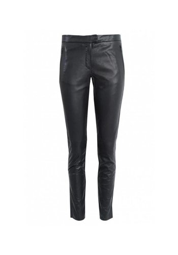 Second Female Leather Trousers Robina Black