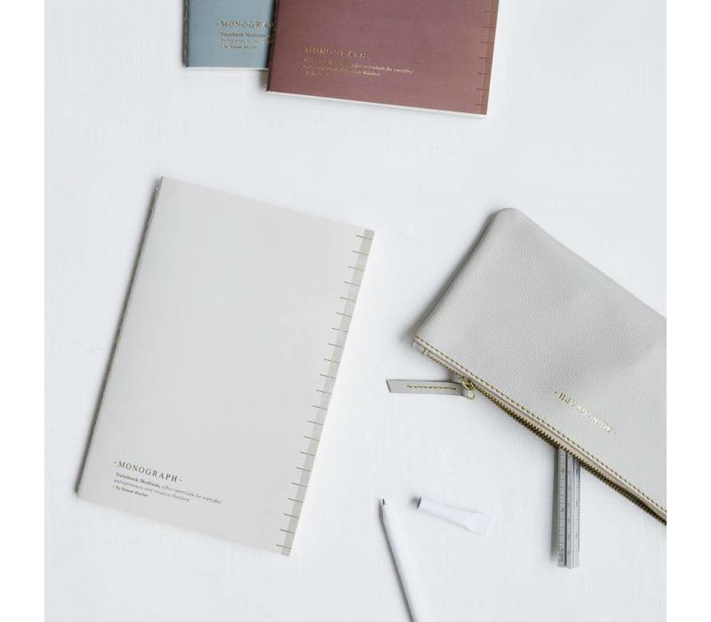 Notebook Soft Grey  A4
