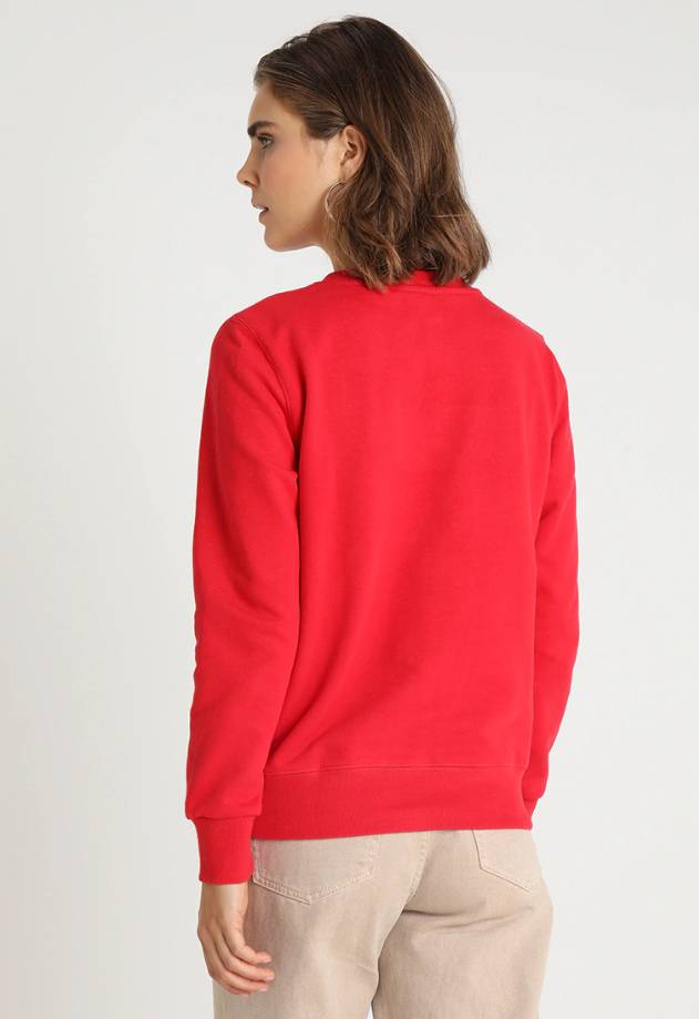 Another Label Blouse Paris Black/Red