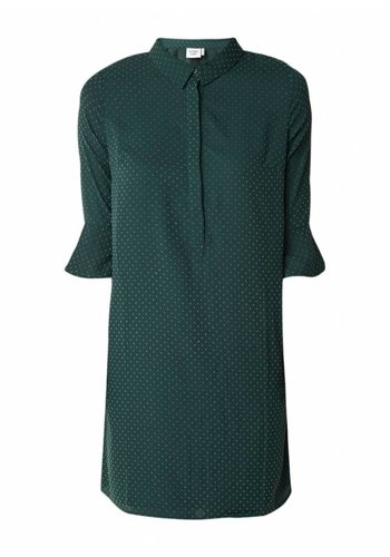 Another Label Dress Piver Flock Pine