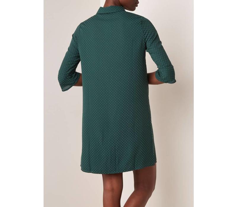 Dress Label Blouse Piver Flock Pine