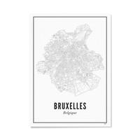 Kader Brussel 30x40cm