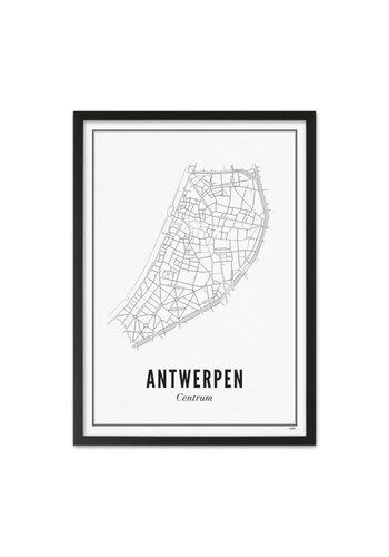 Wijck Kader Antwerpen 40x50cm