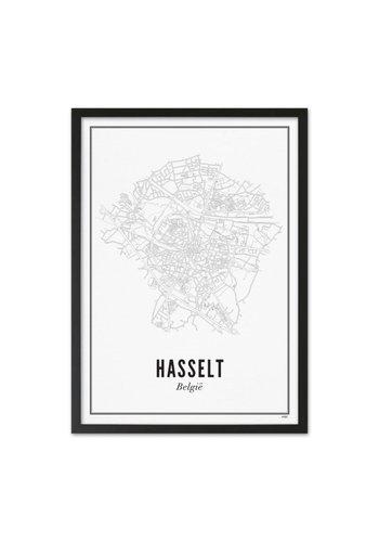 Wijck Kader Hasselt 40x50cm