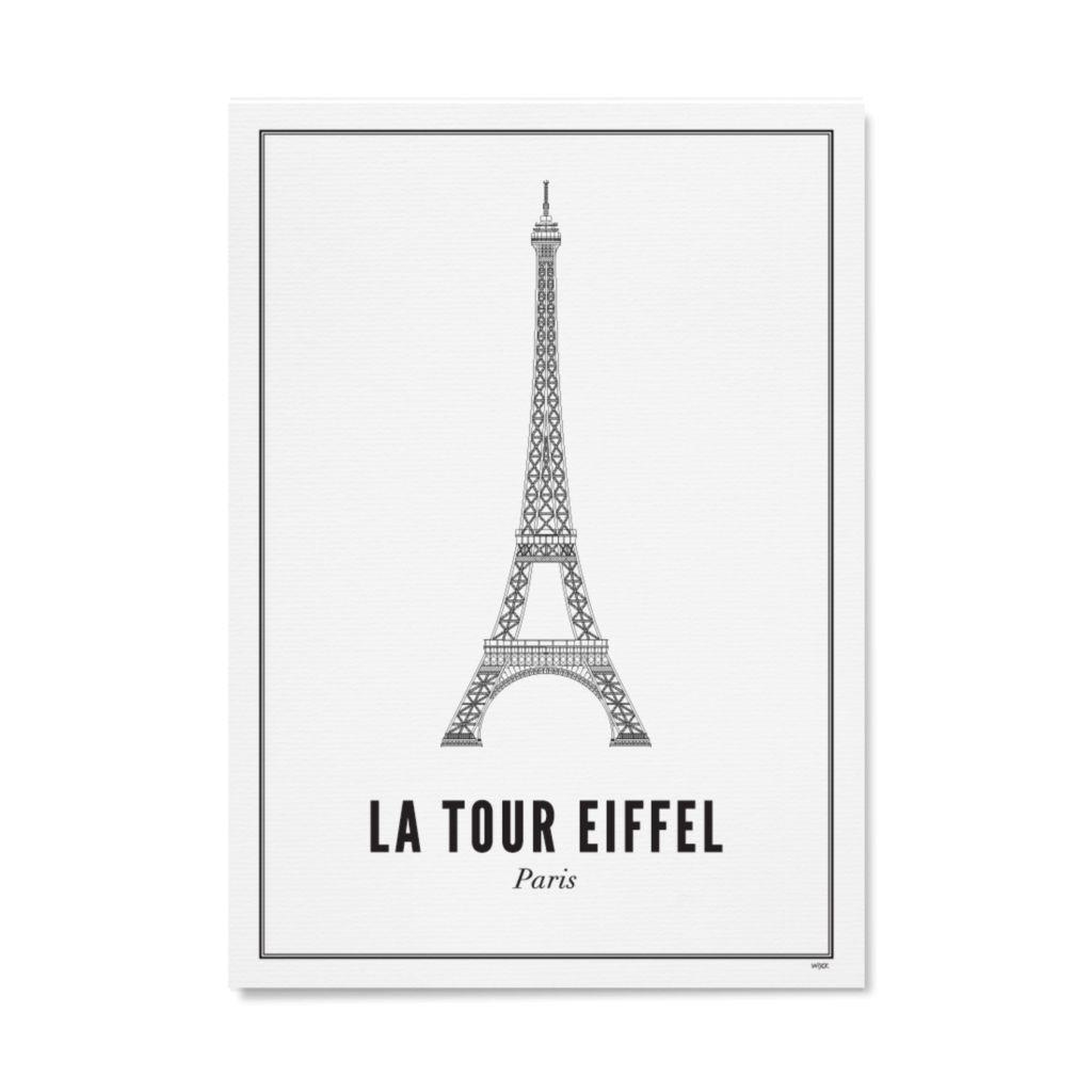 Frame Eifel Tower 21x30cm