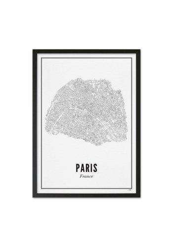 Wijck Kader Parijs 40x50cm