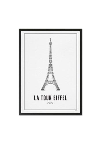 Wijck Frame Eifel Tower 21x30cm