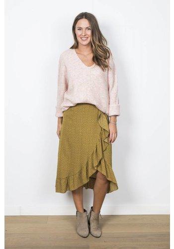Long Skirt Dots