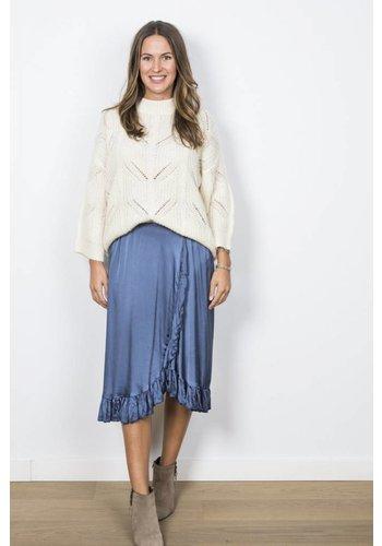 Laurent Silk Skirt