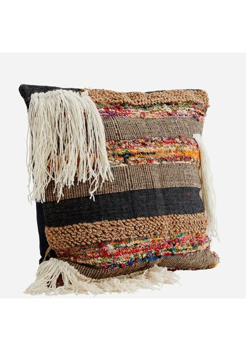 Madam Stoltz Handwoven etnic cushion