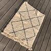 Beni Ourain carpet 110x75cm