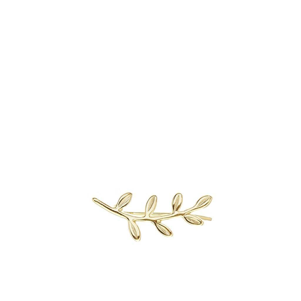 Louise Leaf Gold