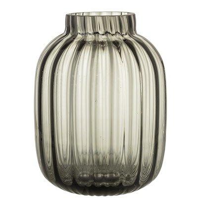 Vase Grey Glass