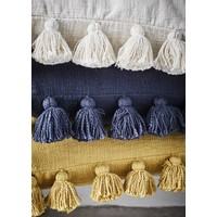 Cushion With Tassels