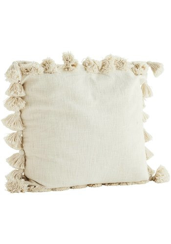 Madam Stoltz Cushion With Tassels