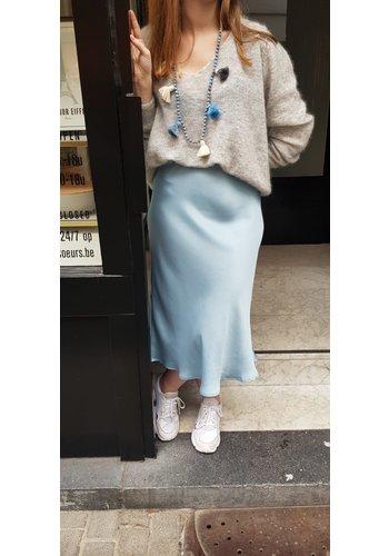 Vicolo Vicolo Blue Skirt