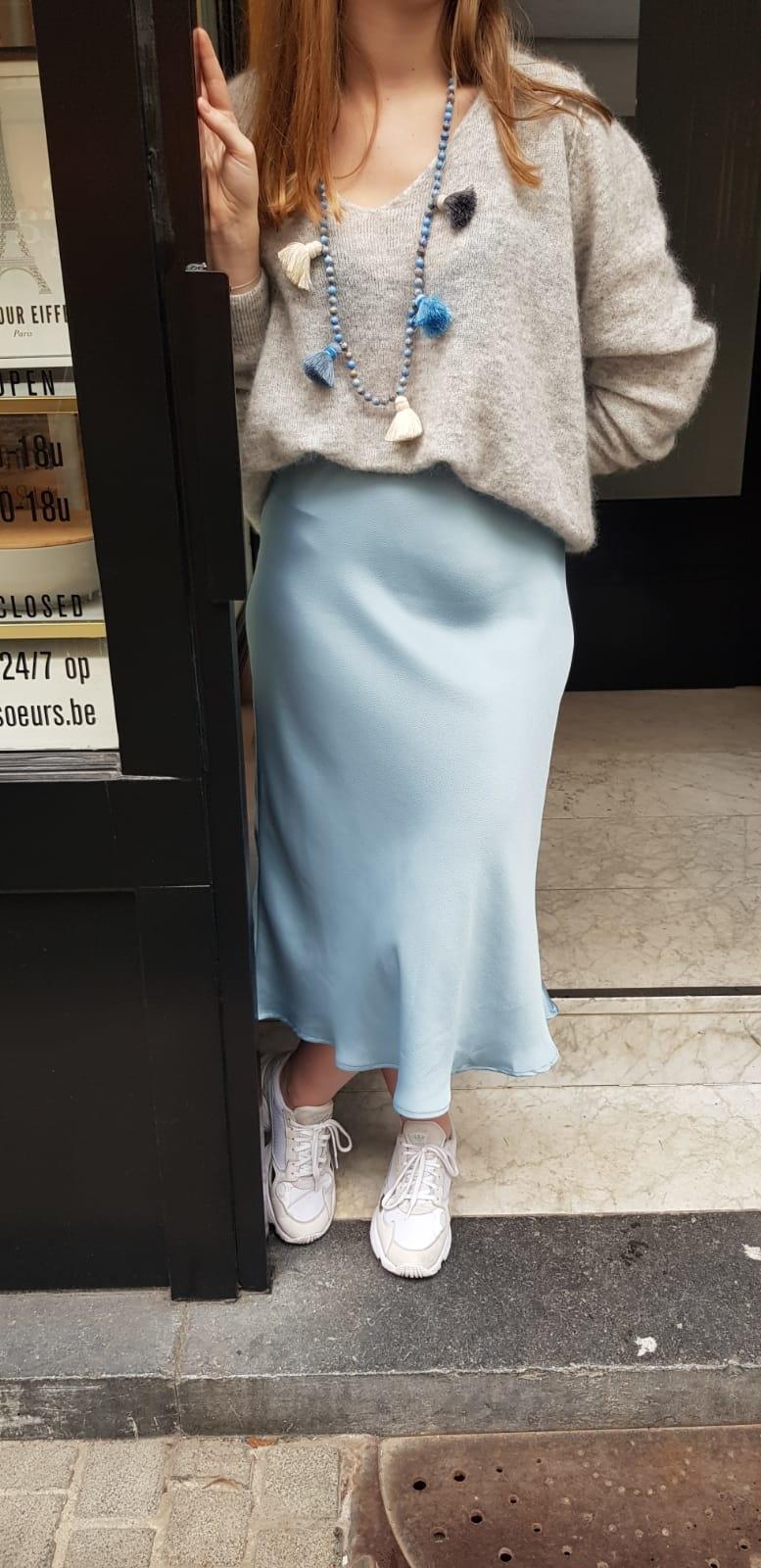 Vicolo Blue Skirt