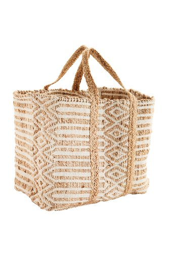 Madam Stoltz Jute Bag