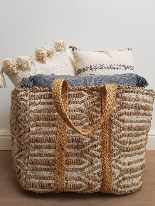 Cushion With Tassels