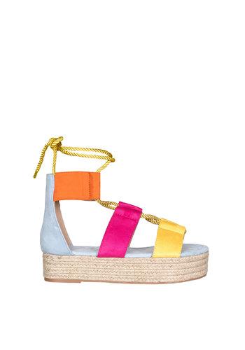 Sandals Multicolor Blue