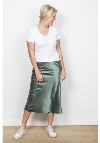 Les Soeurs Satin Skirt