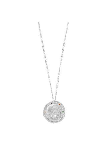 Les Soeurs Rosa Zodiac Necklace Libra