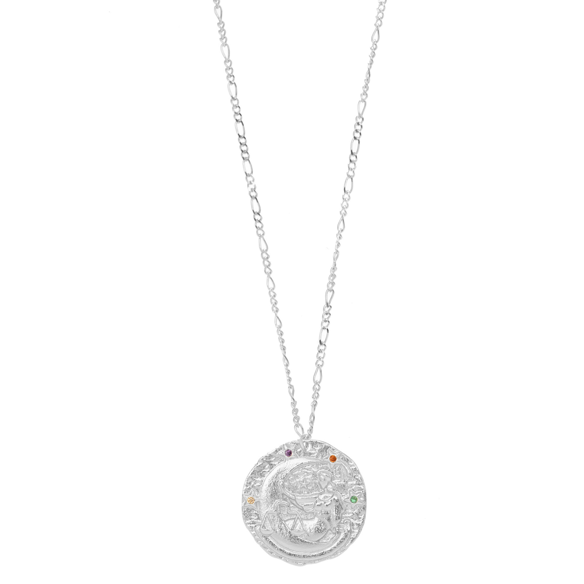 Rosa Zodiac Necklace Libra