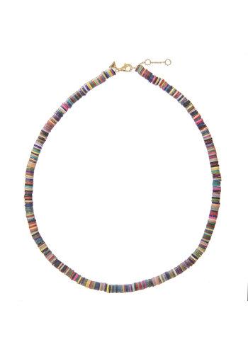 Les Soeurs Copy of Surf Necklace Pink