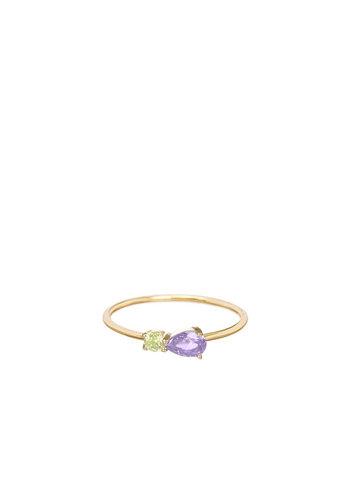 Les Soeurs Chloe Vintage Pastel Duo Purple