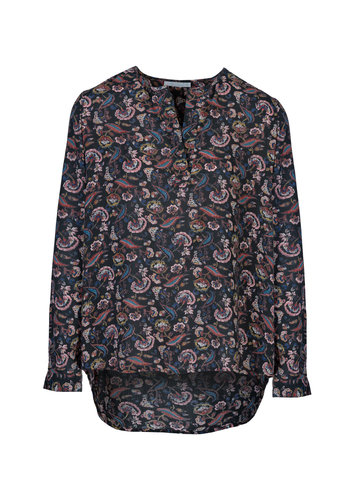 By Bar Blouse Dana Flower