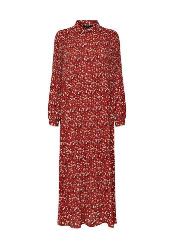 Selected Dress Poppy