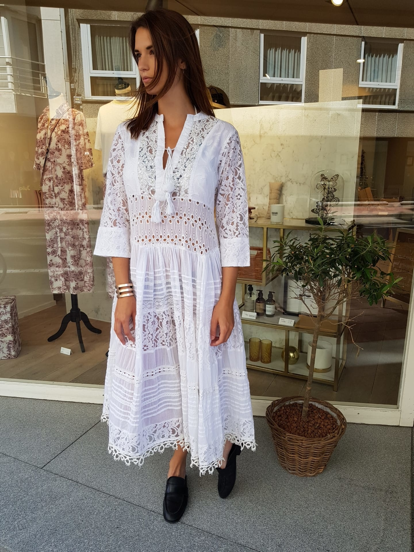 White  Dress S103002