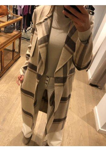 Selected Coat Tana Check