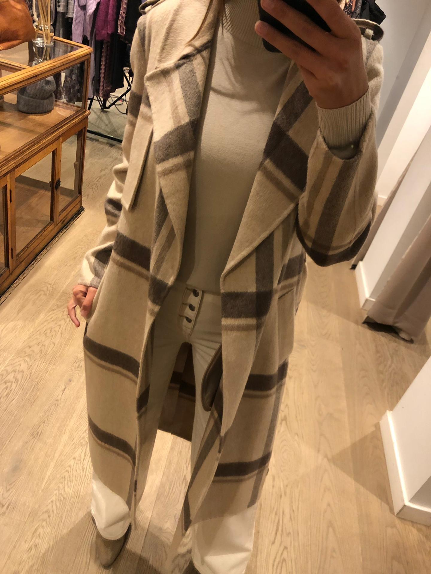 Coat Tana Check