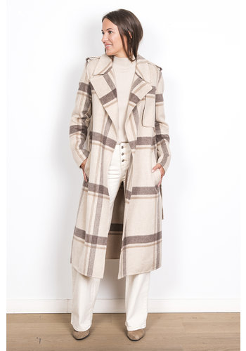 Selected Coat Tana Check