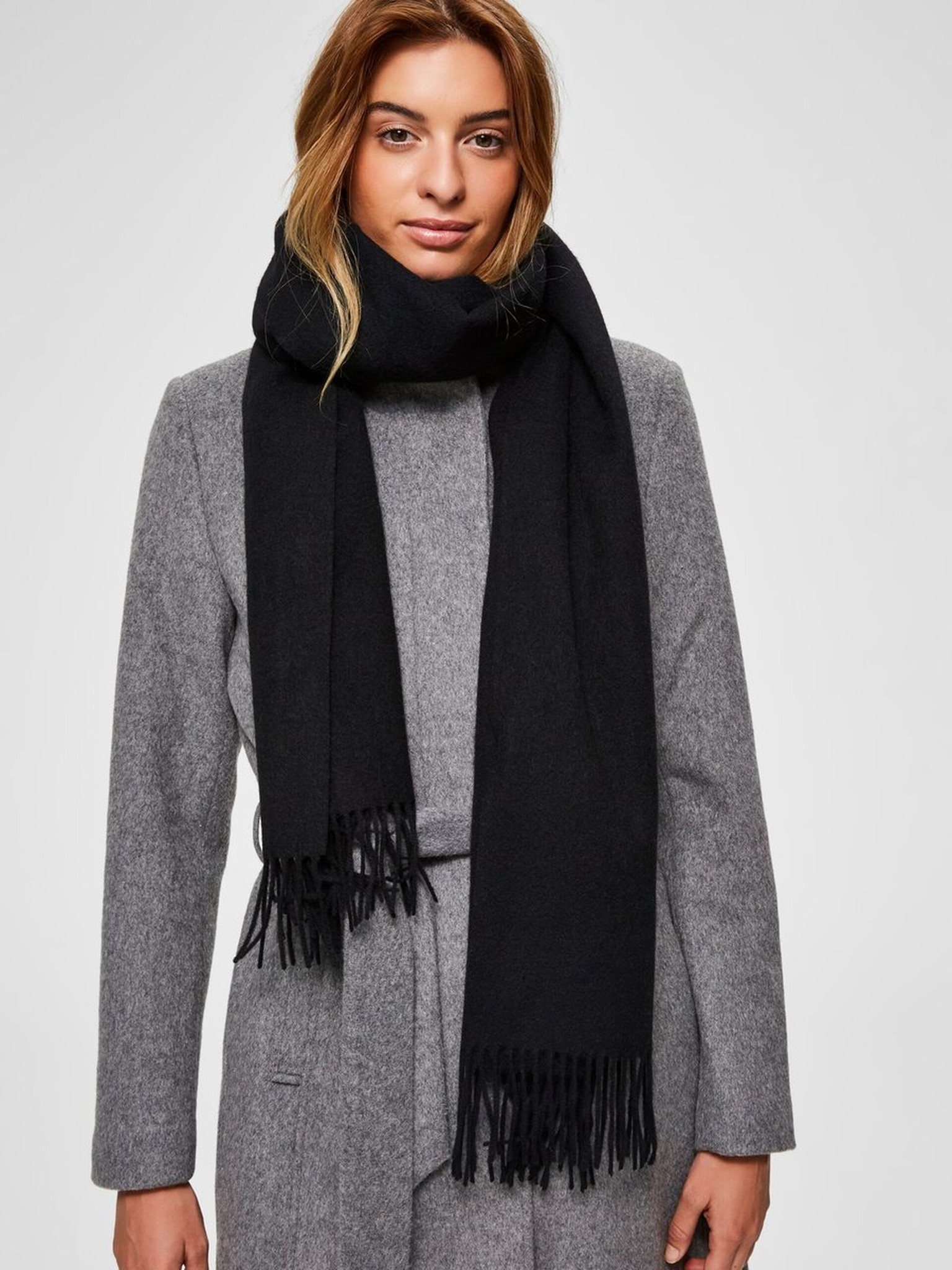 Time Wool Scarf