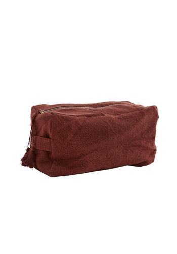 Madam Stoltz Cotton Toilet Bag