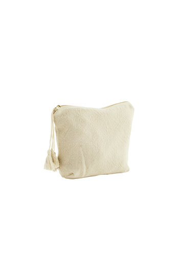 Madam Stoltz Cotton Toilet Bag