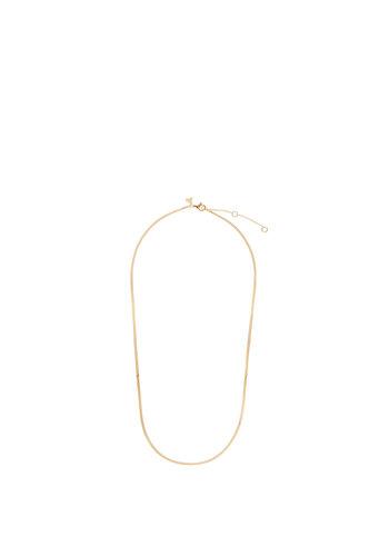 Les Soeurs Romee Snake Chain 37cm Gold