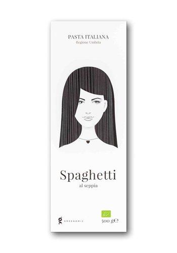 Greenomic Bio Spaghetti Al Seppia