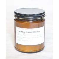 Essential Oil & Soy Wax Candle Smokey Mountain