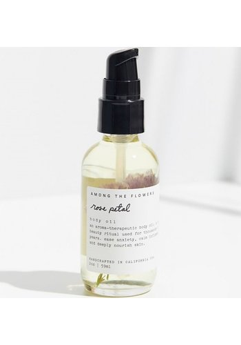 Among The Flowers Body Oil Rose Petal