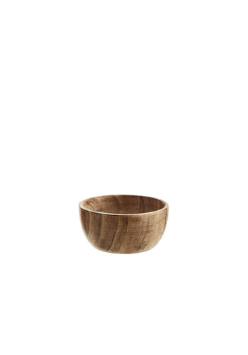 Madam Stoltz Wooden Bowl