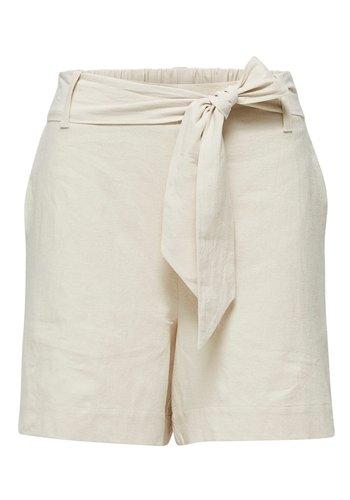 Selected Malvina Shorts Sandshell