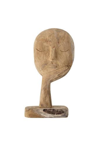 Bloomingville Bloomingville Recycled Wood Head Sculpture