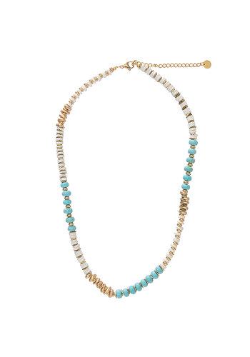 Les Soeurs Sima Necklace Turquoise